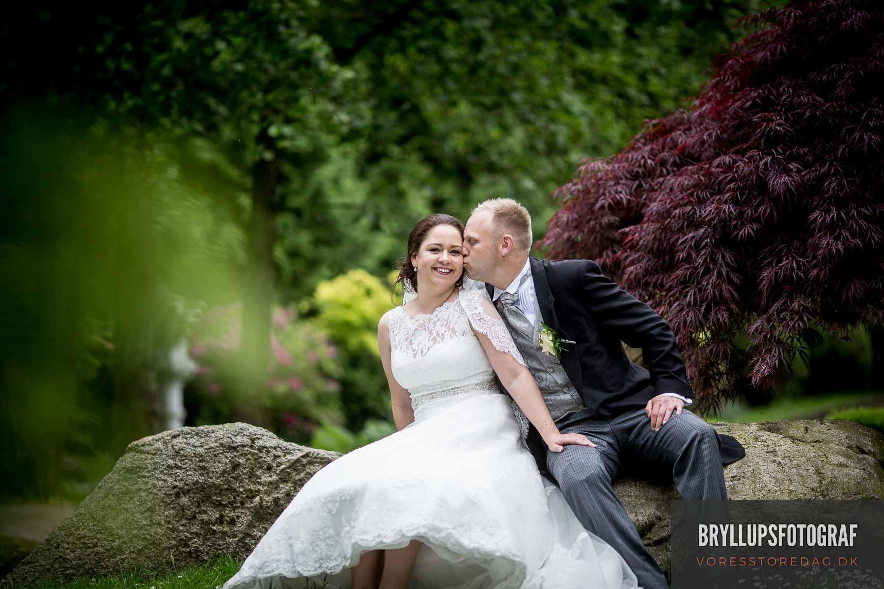 Skal vi skabe noget smukt. Bryllupsbilleder skal være et minde.