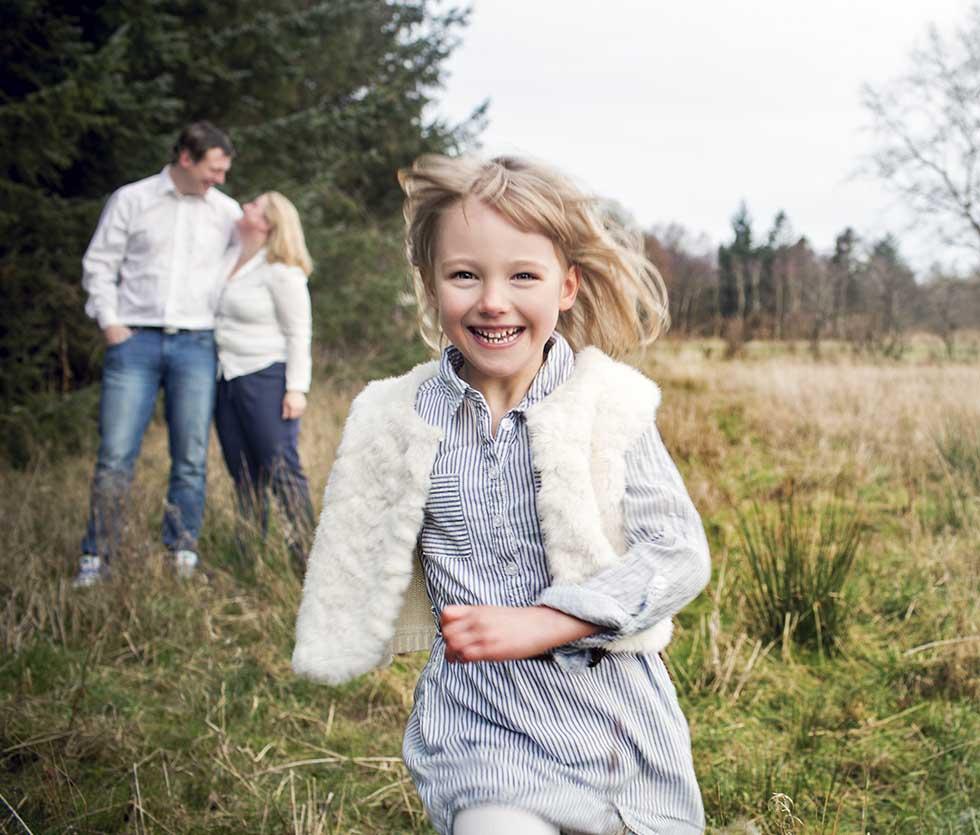 en dygtig familiefotograf til familiefotografering