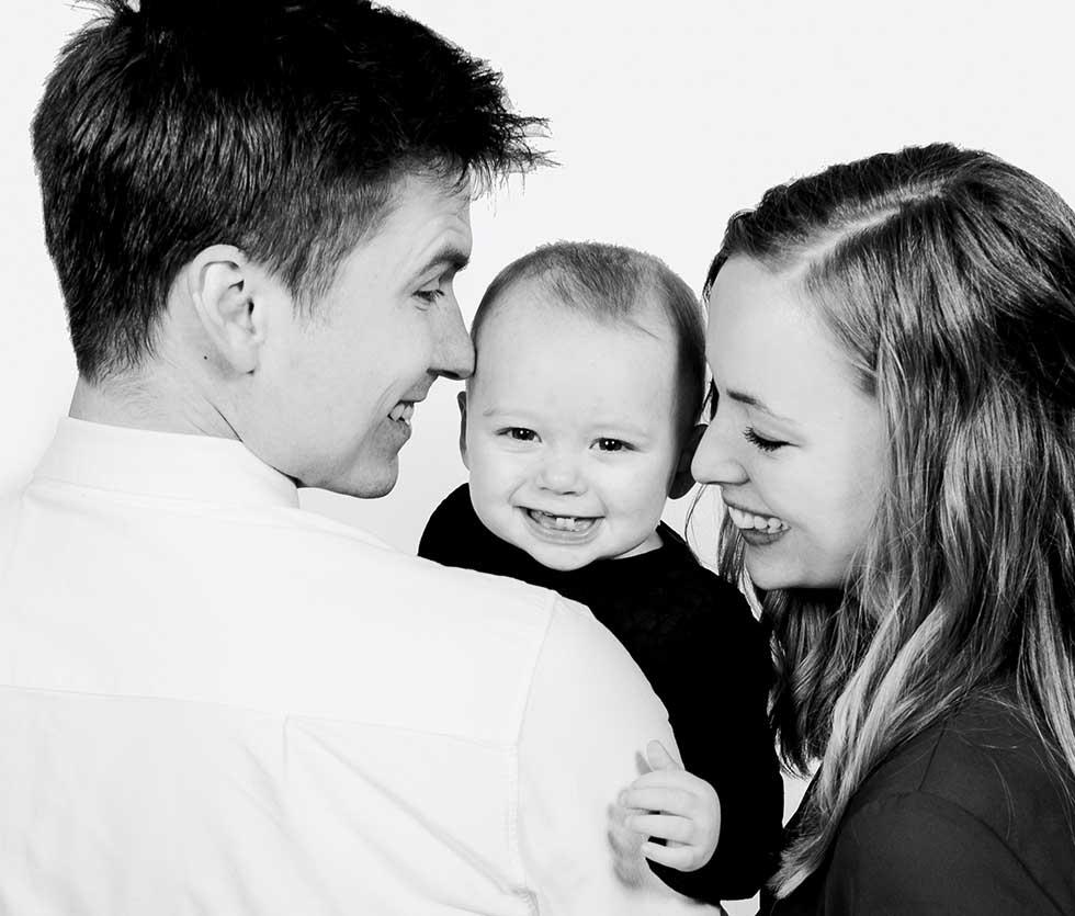 Familiefotograf. En gave der varer for evigt. Portrætter af familien